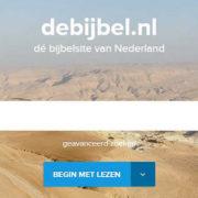 Website De Bijbel