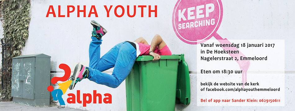 Alpha Youth Kick-off: is er meer?