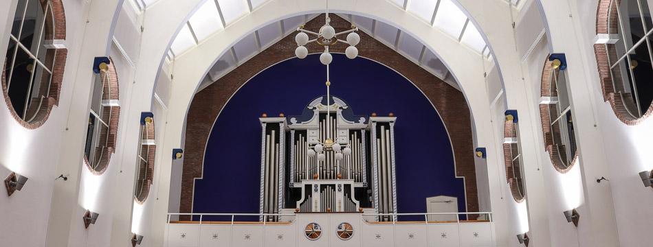 Kerkmuziek op zondagmiddag in de Hoeksteen