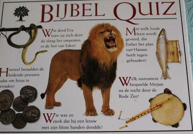 Bijbel Quiz - Zondag 7 juni