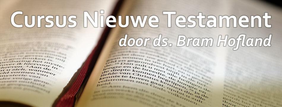 Cursus Nieuwe Testament (start)